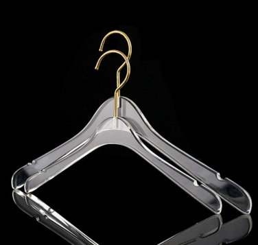hot selling plastic acrylic hanger for suit garments