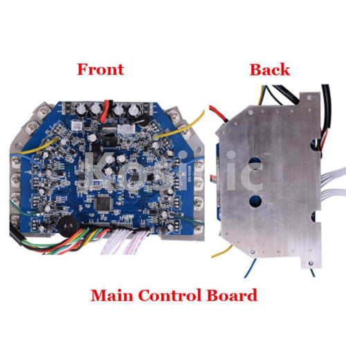 Main control board for scooters hoverboards use