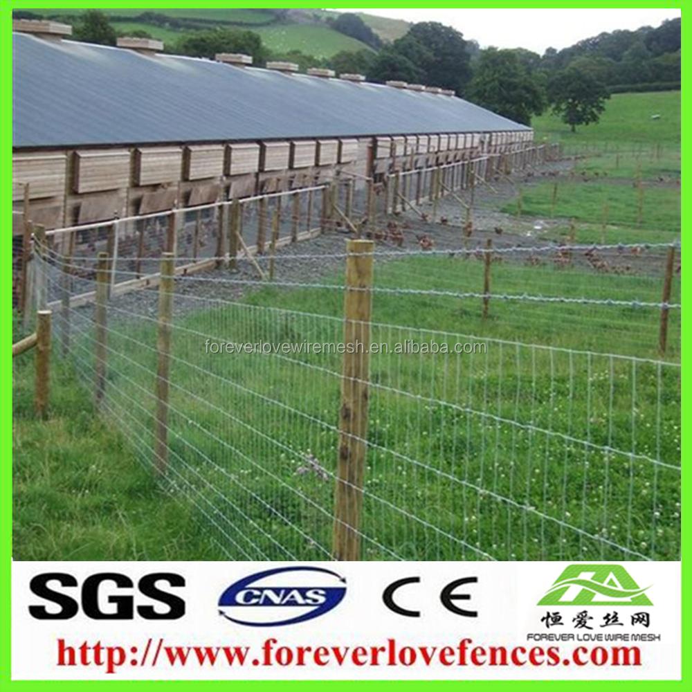 High Tensile Canada Cheap Farm Fence Cow/deer/goat/sheep /horse ...