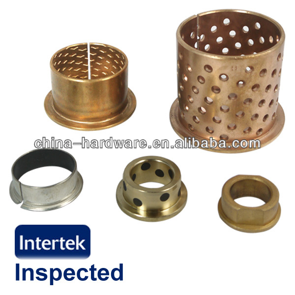 Flanged Bronze Bushing,Oilite Bush,Oilless Bronze Bushing for track
