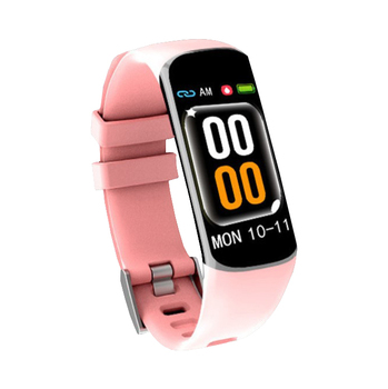 Blood Pressure Monitor Pedometer Activity Women Period Smart Wristwatches