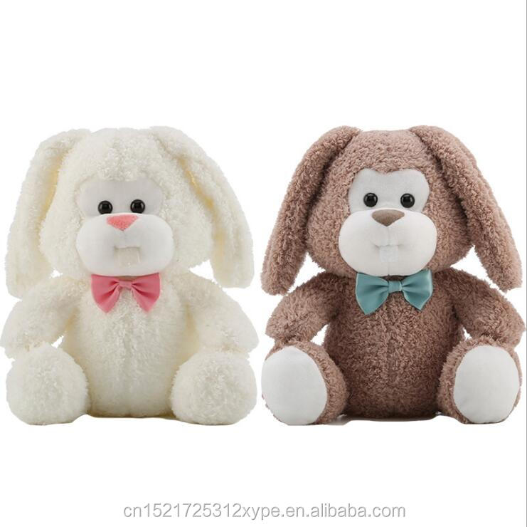 Wholesale Custom Long Eared Monkey Face Rabbit Plush Toys With Teeth