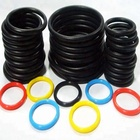 blue/red/white/black silicone rubber sealing o-ring/FKM/NBR/EPDM food ice cream machine rubber o ring