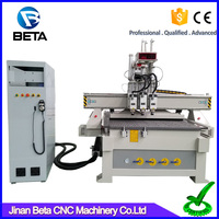 New design !! China ce approved cnc wood router machine price for universal work door
