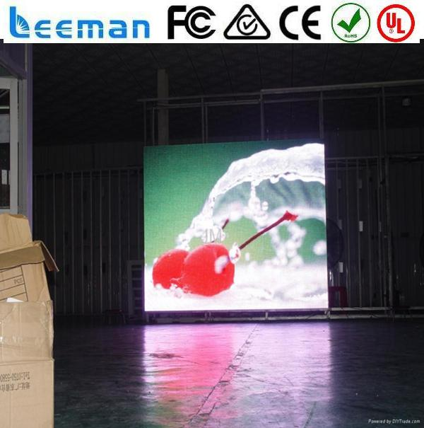 two face outdoor full colour led display screen led dot matrix module full color soft led screen soft i80