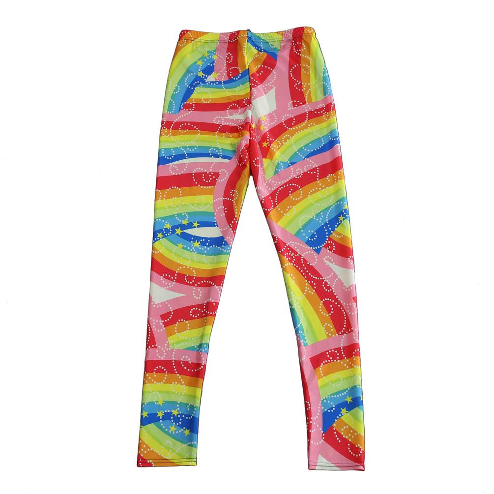 Plus Size Rainbow Leggings The Else