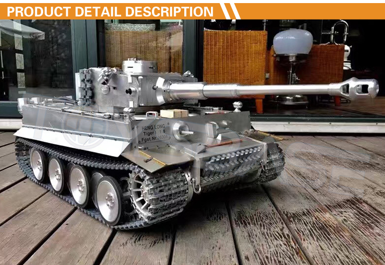 Hot Selling 24G German Tiger I Rc Tank 1 8 Model Tanks