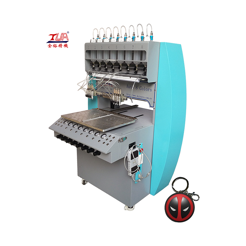 jinyu automatic high precision PVC drip plastic sole drop molding machine