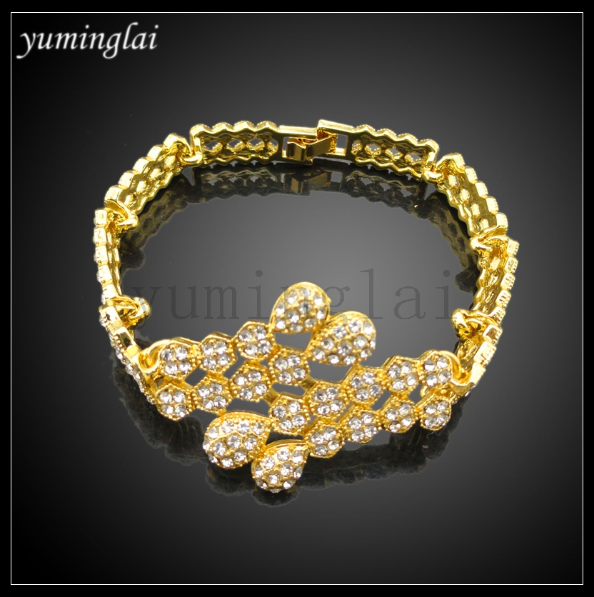 FHK2970 wholesale african jewelry dubai big jewelry settings gold plated