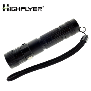 USB charge 18650 pen clip ultra bright light led torch flashlight