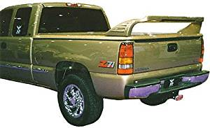 JSP Universal 64 inch Truck Bed Cover Rear Wing Spoiler Ram Style Primed 333047