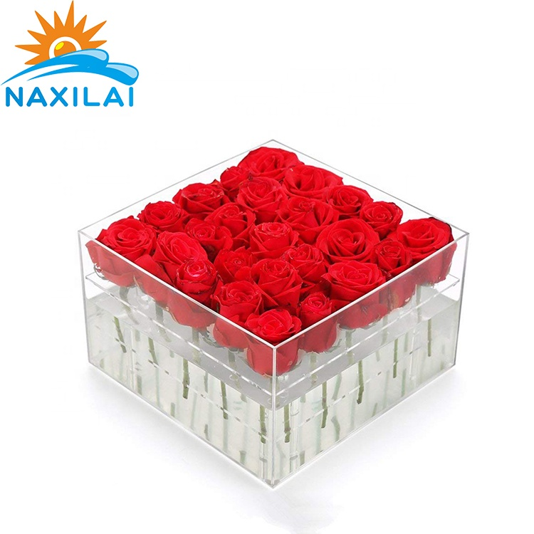 acrylic flower box,9