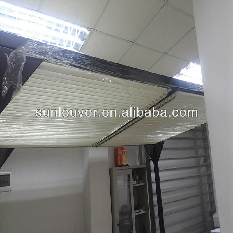 Aluminum Extruded Profile Adjustable Louver