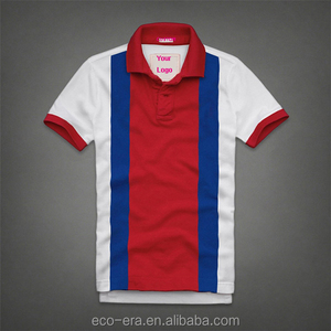 Latest Design Polo Shirt Free Clothing Samples Men's Colorful Striped Polo