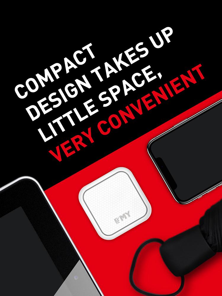LDNIO Sub Brand EMY MY-A302Q QC 3.0 USB Charger Fast travel charger QC3.0fast charging single usb port