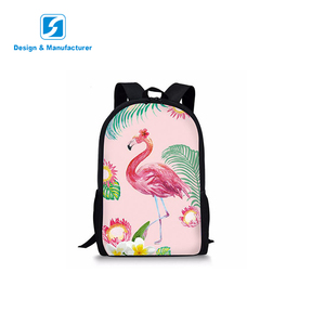 2018 Chinese active animal sublimation wholesale children school bag