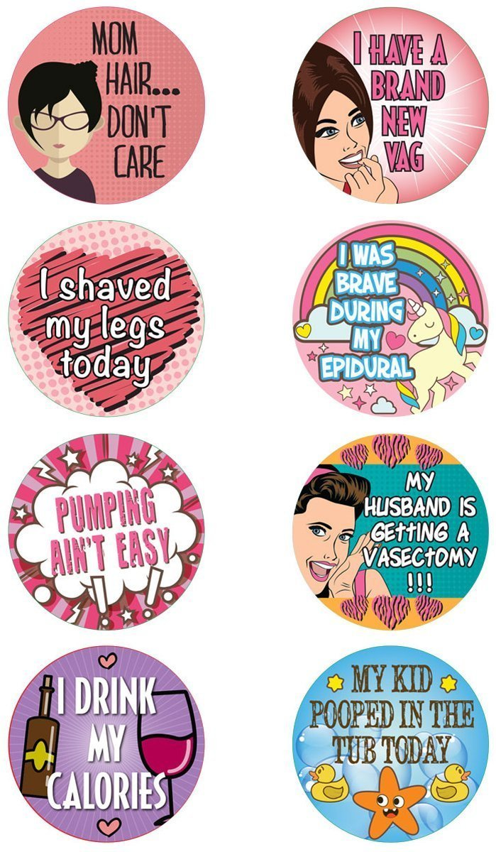 16 adult achievement stickers adulting perfect funny gift for white elephant gifts