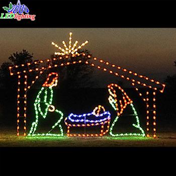 220cm Wide Led Birth 2d Motif Christmas Lights Led Nativity - Buy 220cm  Wide Led Birth 2d Motif Christmas Lights Led Nativity,Lighted Outdoor  Nativity ... - 220cm Wide Led Birth 2d Motif Christmas Lights Led Nativity - Buy