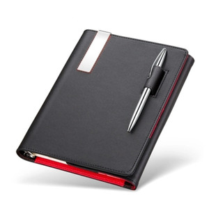 Trifold Loose-leaf Business Notebook Diary Customization Leather Notebook