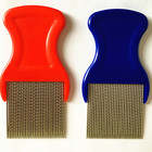 home use stainless steel tooth Hot sell metal lice comb for removing lice