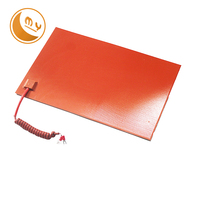 Flexible customized battery powered silicone heating pad silicone rubber heater