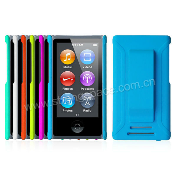 New Arrival For iPod Nano 7 Printing Your Logo With Belt Clip
