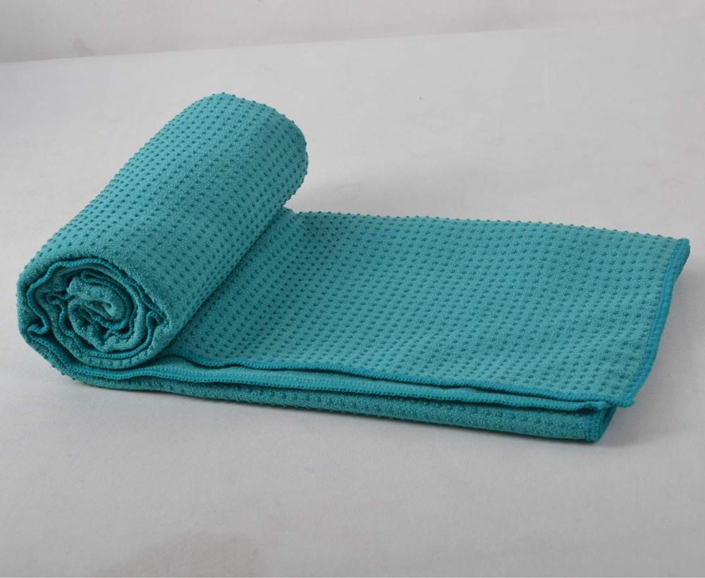 Pvc Antibacteriële antislip microfiber yoga mat handdoek