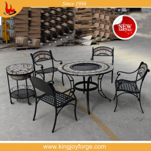 garden treasures marble bbq patio furniture set