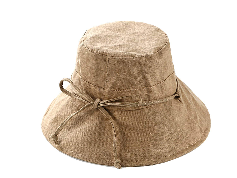 6cd66ccf3171d Get Quotations · Dedesty Straw Hats Casual Vacation Travel Wide Brimmed Sun  Hats Foldable Beach Women Beach Cap