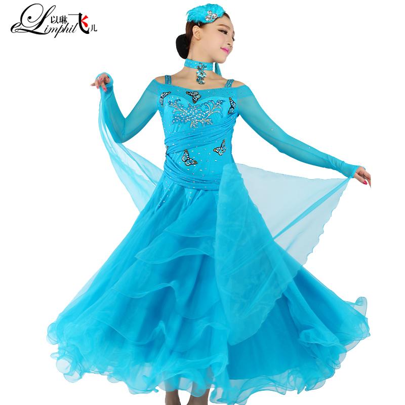 1f76d4e791c3 Get Quotations · AAW 2015 new tango ballroom dress fashion big swing dresses  for standard dances hot sale sunflower