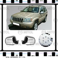 Chrome Side Mirror Cover For Jeep GRAND CHEROKEE, Auto Accessories