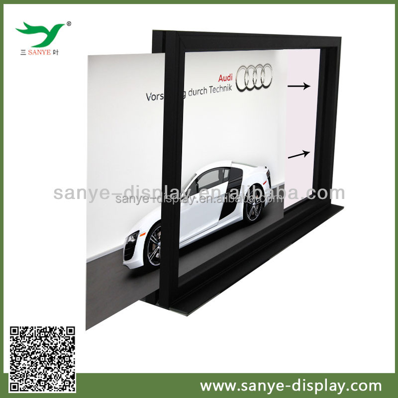 hot sale outdoor pump topper frame advertisemnet board