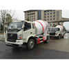 Customized new coming 8*4 for howo concrete bulk feed mixing truck