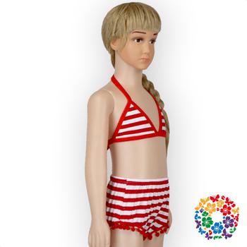74a7e594f8 Baby Girls Red White Bikini Baby Swimwear, bikini kids/girls swimsuit,kid  4th