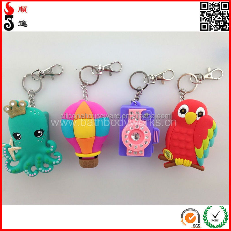 High Quality Hand Sanitizer Holder Keychain for Promotion <strong>Gifts</strong>
