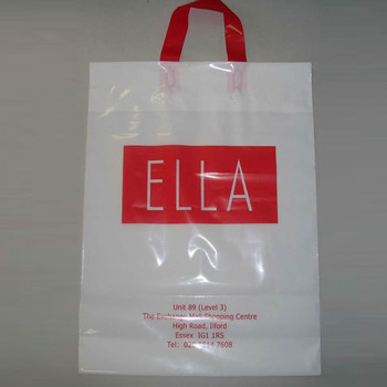 oem production cheap custom plastic shopping carry bag design your