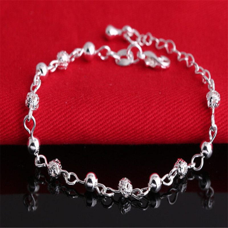 Изящные ювелирные браслеты 925 серебряный браслет мода браслеты для женщин браслеты и браслеты BG146