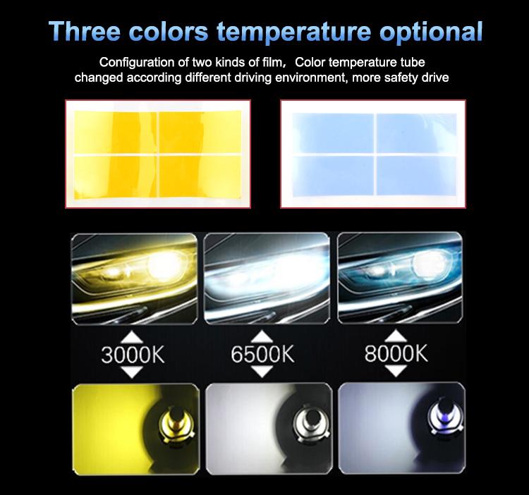 Car Accessories 7S LED Headlight 6000LM H1 H3 H7 H4 H11 9005 9006 Car Led Headlamp