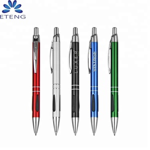 Promotion decorative ballpoint pens with customized printing