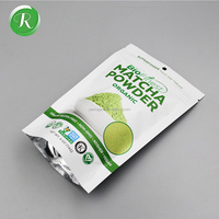 Organic Green Coffee Tea Bags With Matcha Powder /Coffee Tea packaging Bags/tea pouch