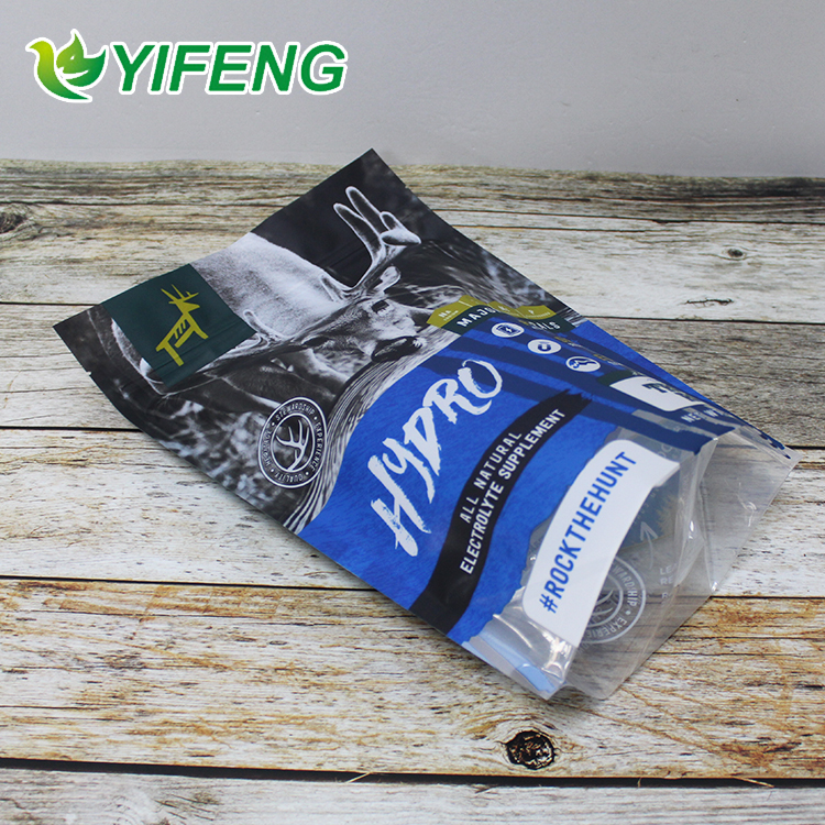 custom plastic zipper pet food packaging bag,pet dog food packaging bag with resealable zipper