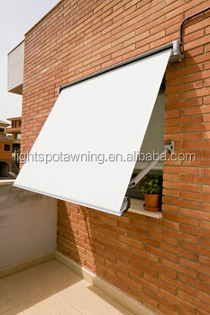 Waterproof canvas Fold arms cassette rain awning