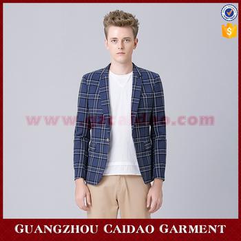 Mens Smart Casual Outfits Check Royal Blue Blazer Buy Royal Blue