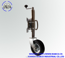 stabilizer trailer jack with rubber wheel
