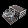 Popular Yiwu Direct Sell Clear Acrylic Cosmetic Makeup Organizer Display Case With Drawers