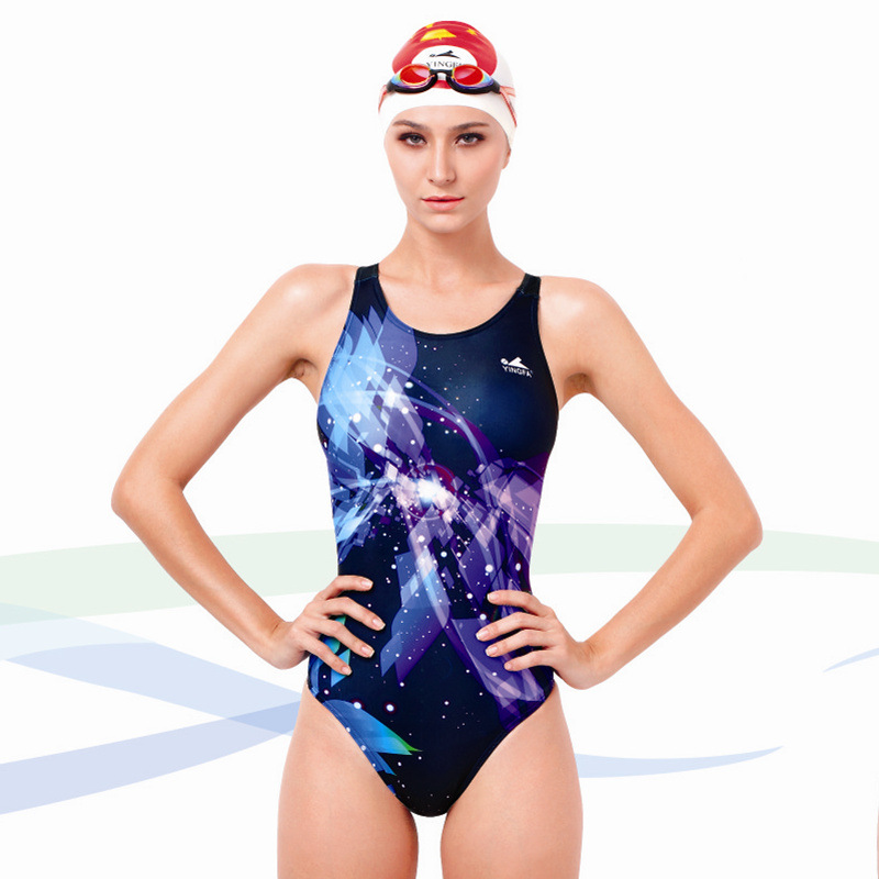 a509ea71cea Buy Yingfa Professional Swimsuit Women Swimwear Sports Racing Competition  Sexy Leotard Tight Lady Bodybuilding Bathing Suit XS-XXXL in Cheap Price on  ...