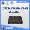 Support SIP and IMS SIP Lantiq chipset 2FXS VoIP ATA