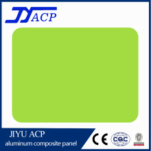 JIYU-6041 Light Green 3mm interior PE coating decorative ACP