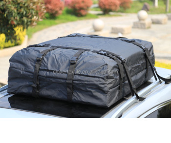 Car Van Suv Roof Top Cargo Rack Carrier Soft Sided Waterproof Travel Luggage Bag
