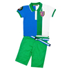Summer wholesale market garment supplier polo t shirt+ pants outdoor britished style fashion kids boy clothes design